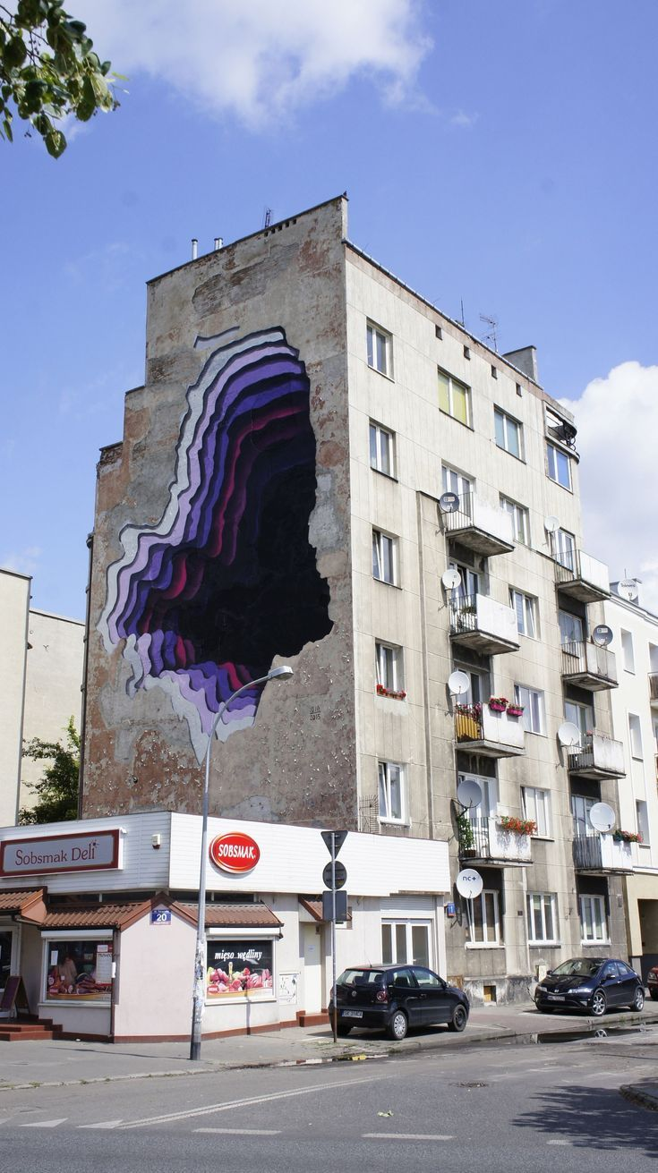 Gallery of German Street Artist 1010 Creates Cave-Like Illusions in Unexpected Places - 2