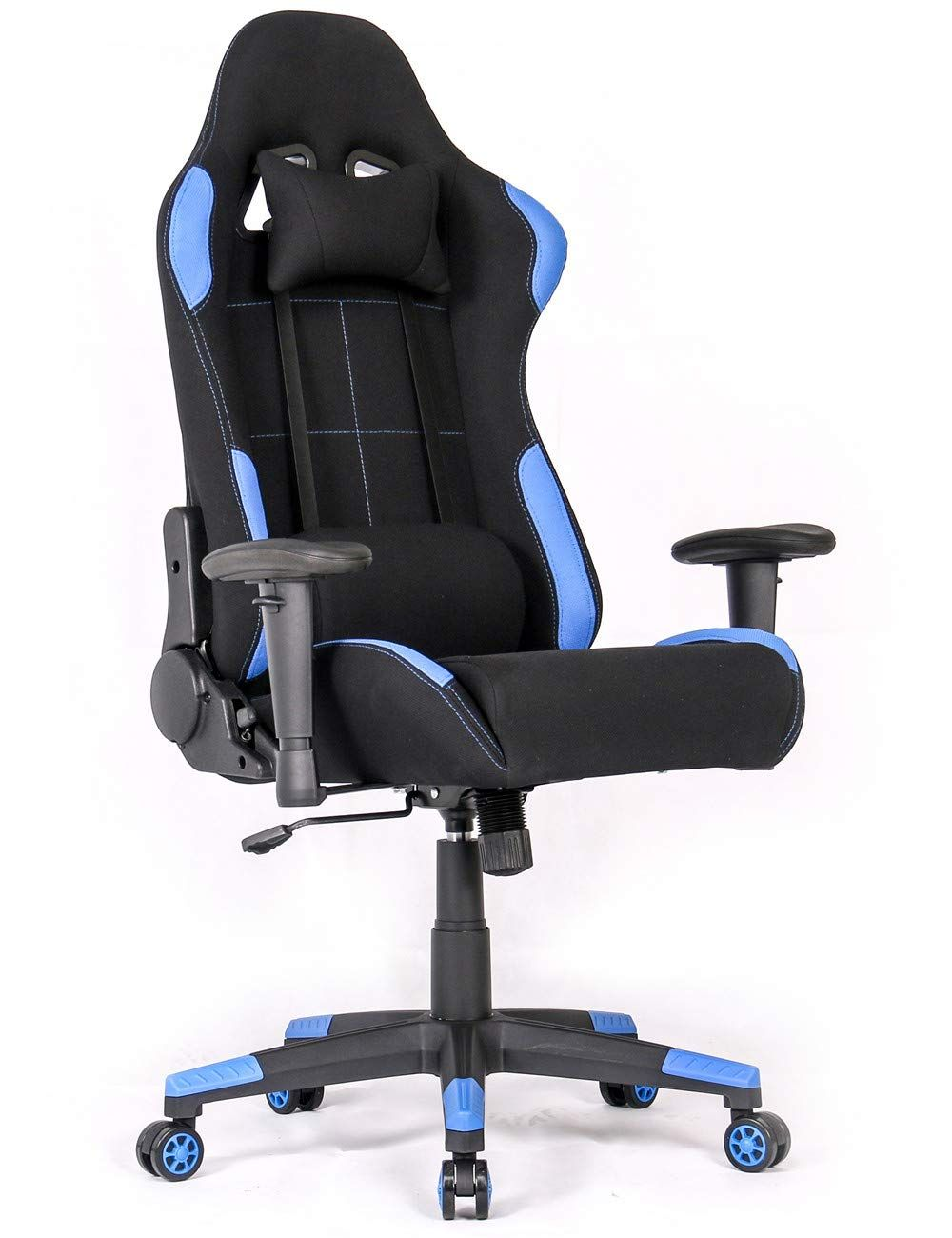 Ergonomic gaming chair racing style office chair recliner