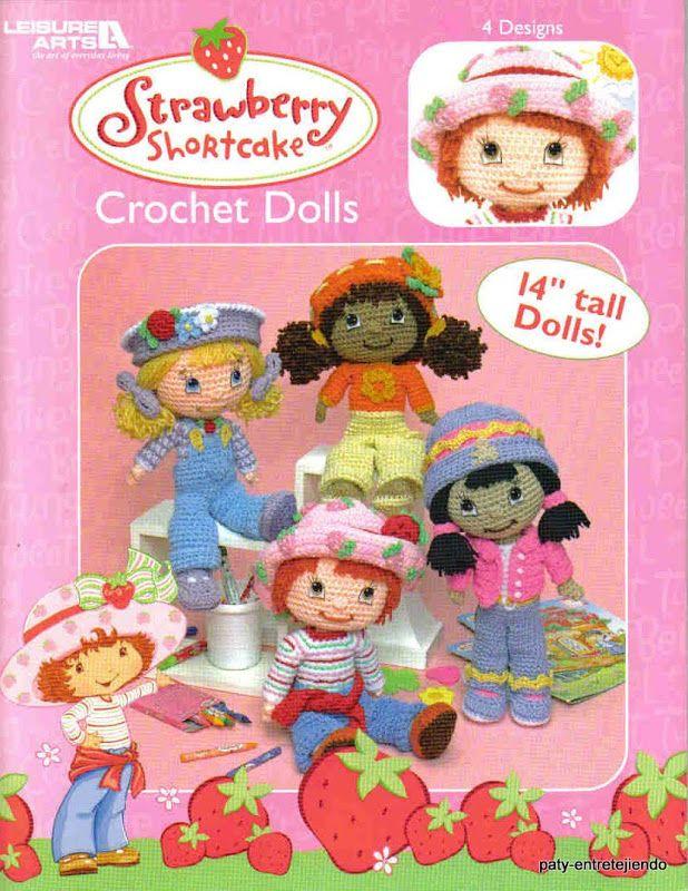 Strawberry shortcake crochet dolls - Paty Entretejiendo - Picasa Web ...