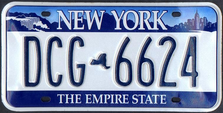 new york license plates | new - new york state license plates - ugly
