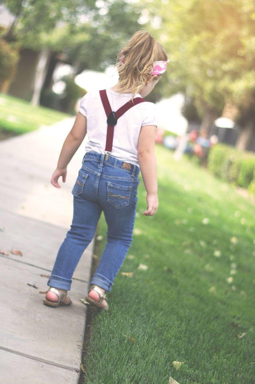 Toddler Suspenders, Girl Suspenders, Suspenders Outfit -5211