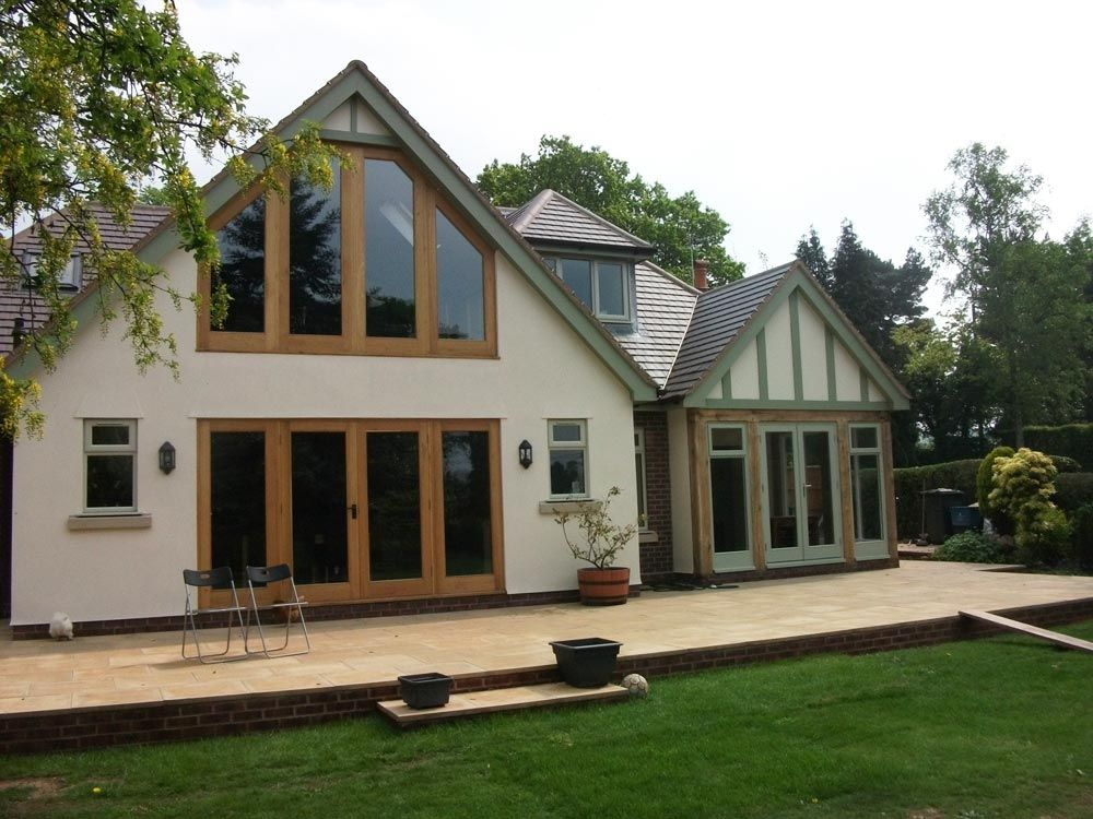 If you really have to be matchy matchy and perfect this - Bungalow extension designs ...