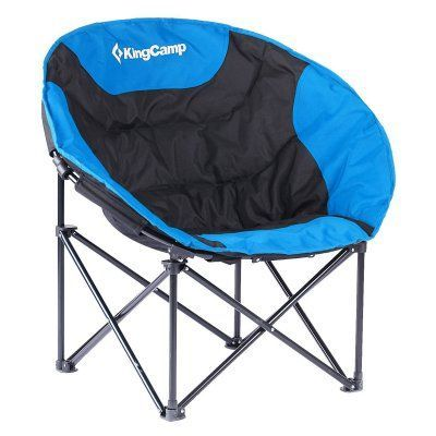 Outdoor Kingcamp Moon Round Compact Folding All Seasons Chair With