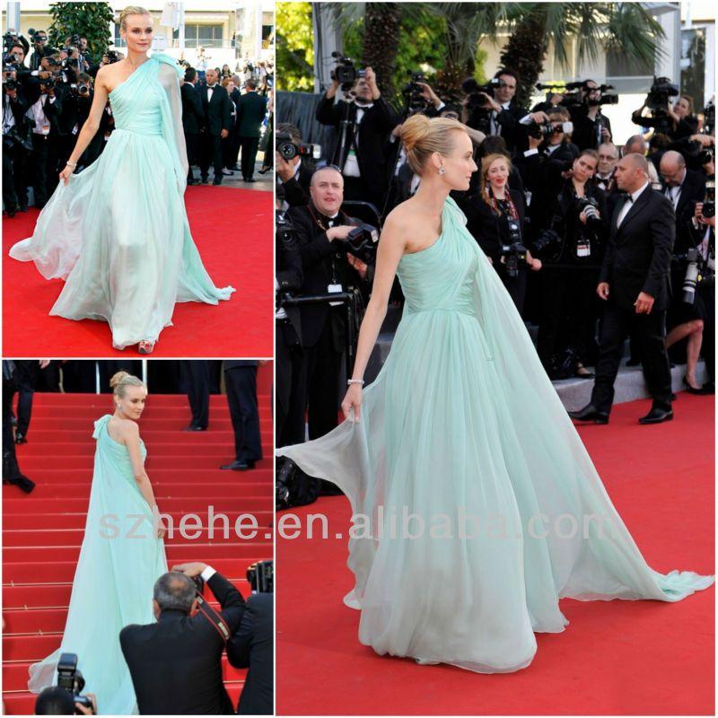 mint dress long chiffon Versandkostenfrei cw1903 2014 Minze grün ...