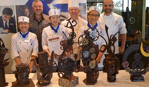 It Was An Exceptional Result For Le Cordon Bleu Patisserie Students When They Took Out First Second And Third Places In The Le Cordon Bleu Cordon Bleu Cordon