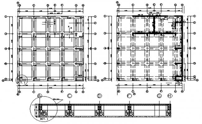 Autocad drawing of a construction detail of institute it