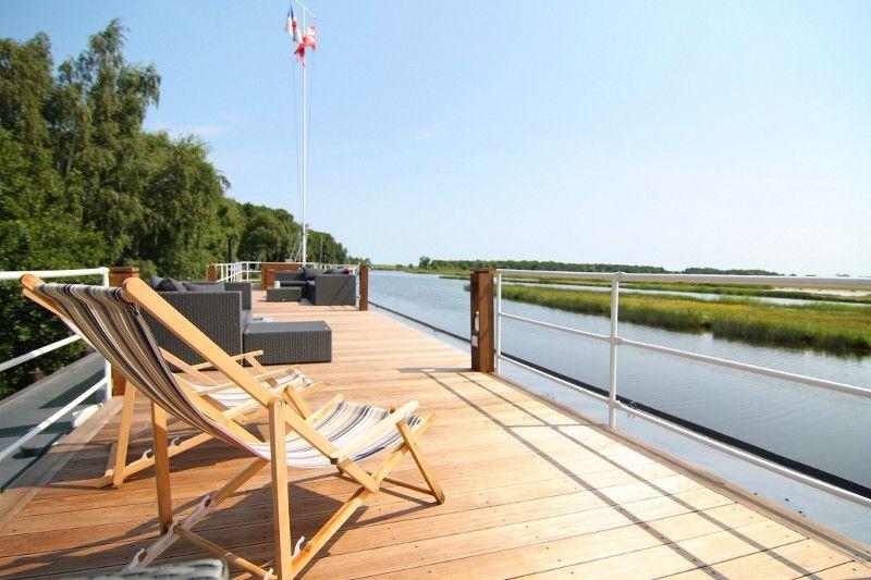 Wohnschiff Störtebeker im Ostseebad Prerow Darss