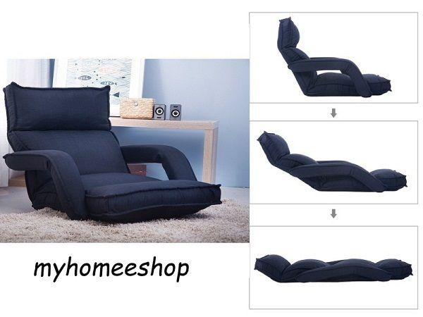 Floor Couch Chaise Lounge Folding Tv Gaming Sofa Lazy Arm Chair