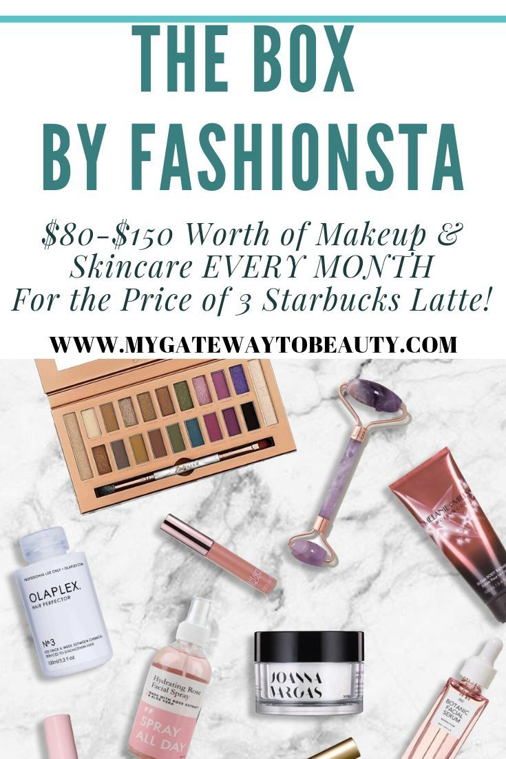 The box by fashionista is a monthly subscription box for