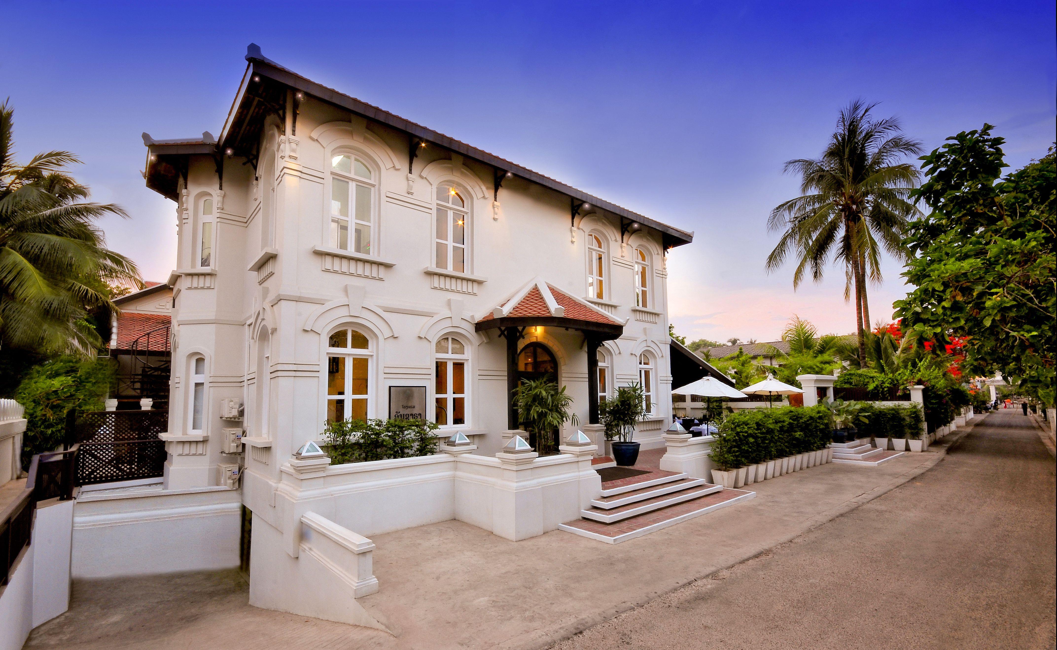 Kolonialstil Le ansara hotel charmantes haus im kolonialstil laos