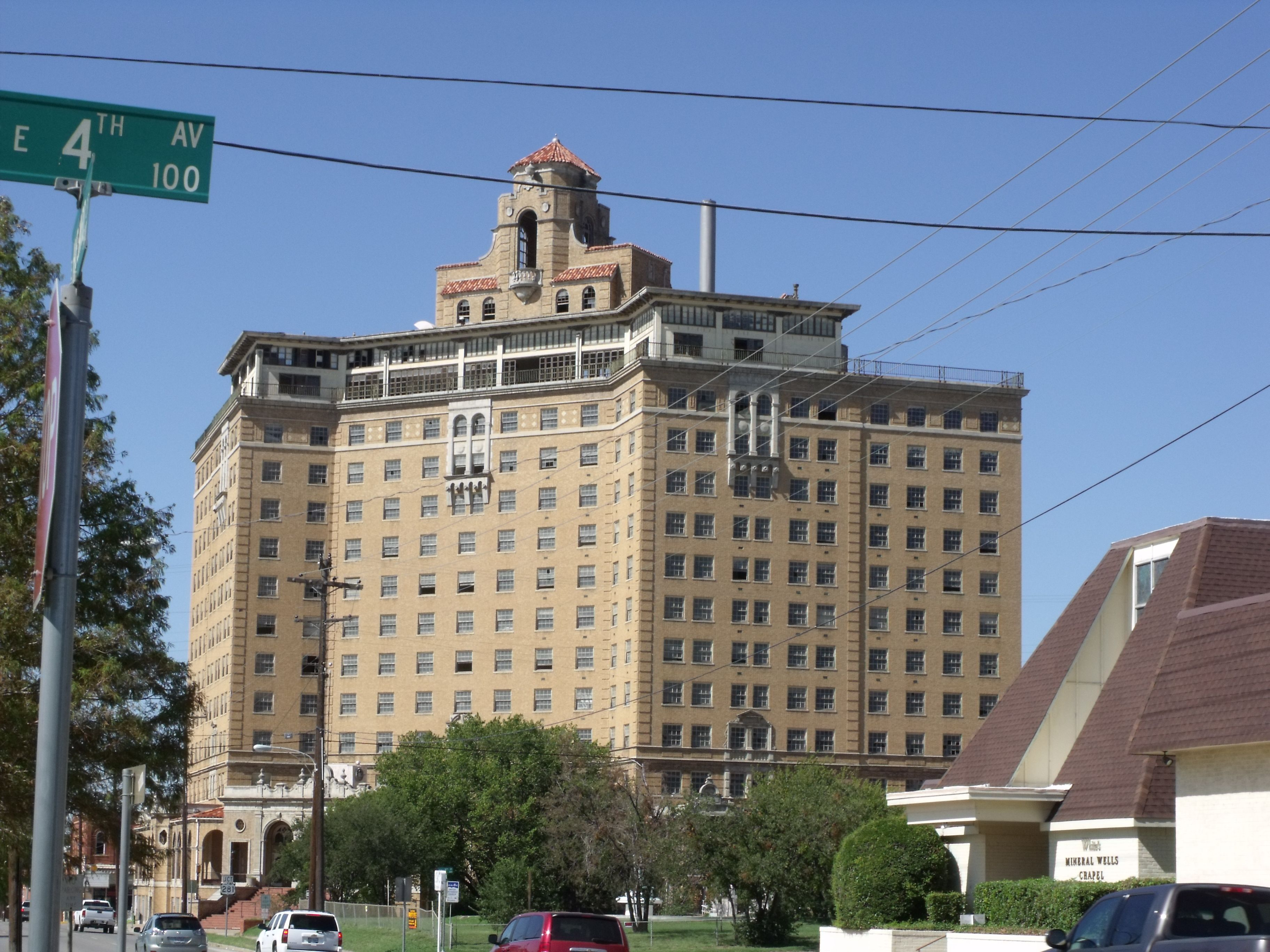 The Baker Hotel In Mineral Wells Tx