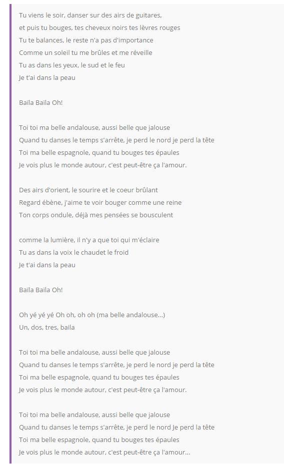 Les Yeux De La Mama Parole : parole, Andalouse, Paroles/Lyrics, Http://www.paroles-celebres.com/11837-paroles, -kendji-girac/57252-paroles-andalouse.html, Parole,, Lyrics,, Lyrics