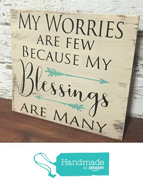 Rustic Wood Sign Home Decor Blessing With Arrows From Rioak Western Design Https