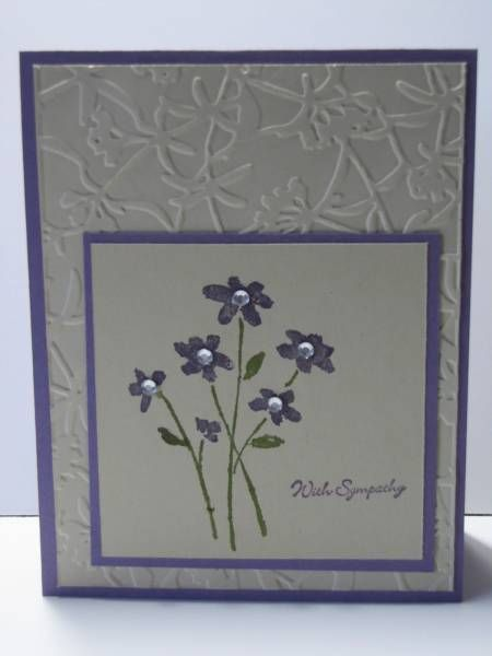 Close Sympathy by NellieKC - Cards and Paper Crafts at Splitcoaststampers