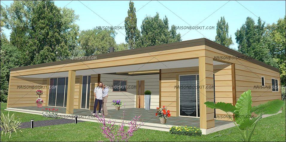 exemple tarif modele gratuit maison bois moderne 66135 euros 114 m2