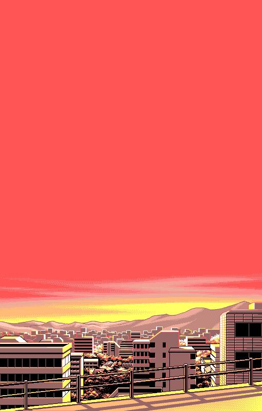 Uncredited Pixel Art Background Pixel Art Vaporwave Wallpaper