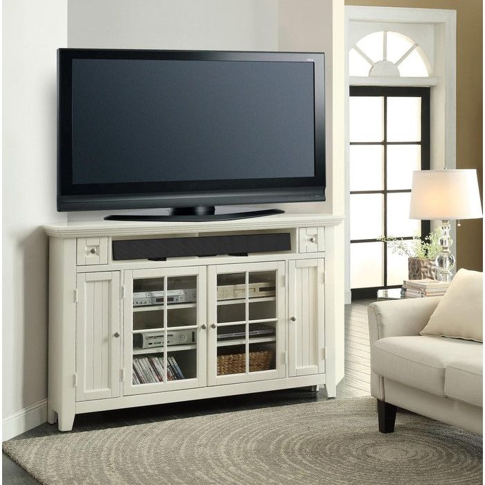 Parker House Tidewater Corner Tv Stand Wayfair Great Room
