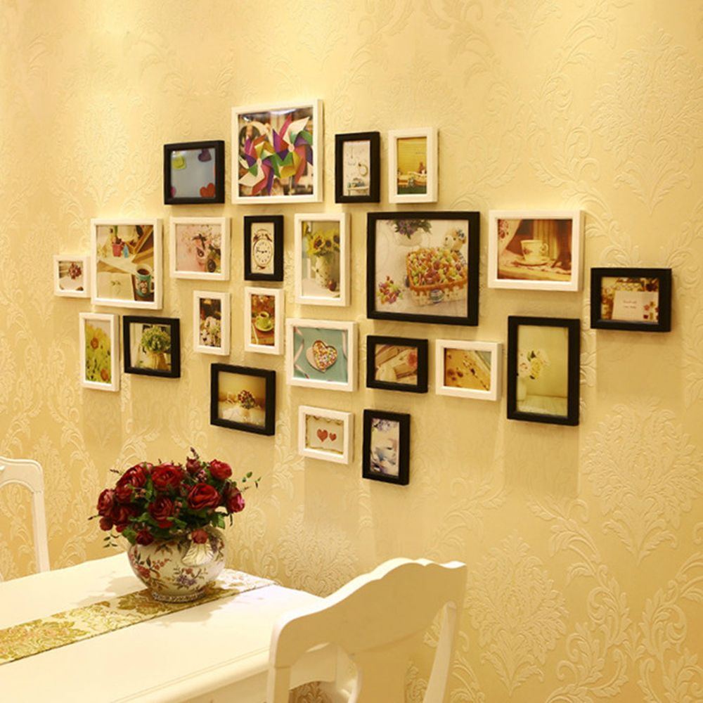 Wooden Photo Frames for Photos with Holder 2016 Art Picture Wedding ...