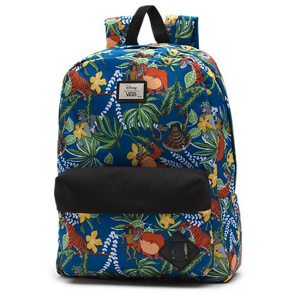 3689f273c70 Disney Old Skool II Backpack I wanna be like you #junglebook #kinglouie  #mancub #disney #vans