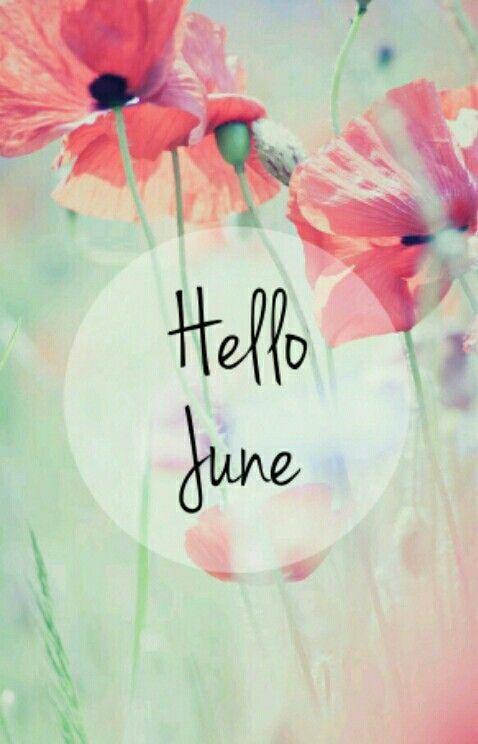 Hello June Wallpaper Hello June Welcome June Iphone Wallpaper