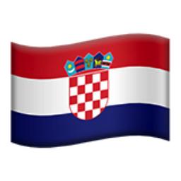 Croatia Emoji U 1f1ed U 1f1f7 Flag Croatia Croatia Flag
