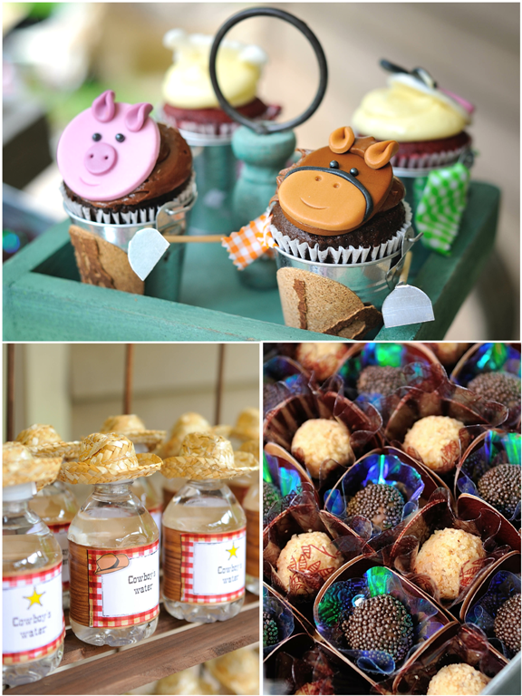 Bird's Party Blog: A Stunning Cowboy Themed 4th Birthday Party !!