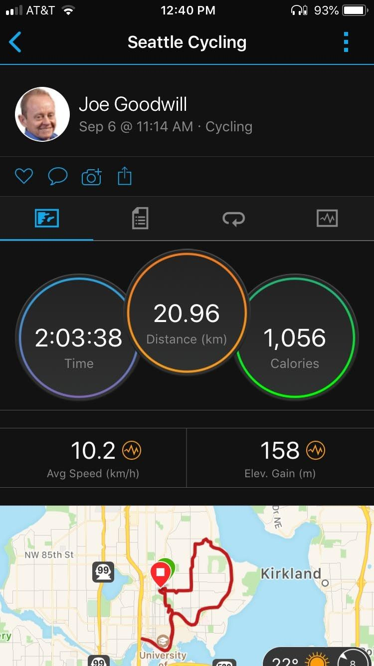 How To Record A Bike Ride With A Garmin Vivoactive 3 Overview Of