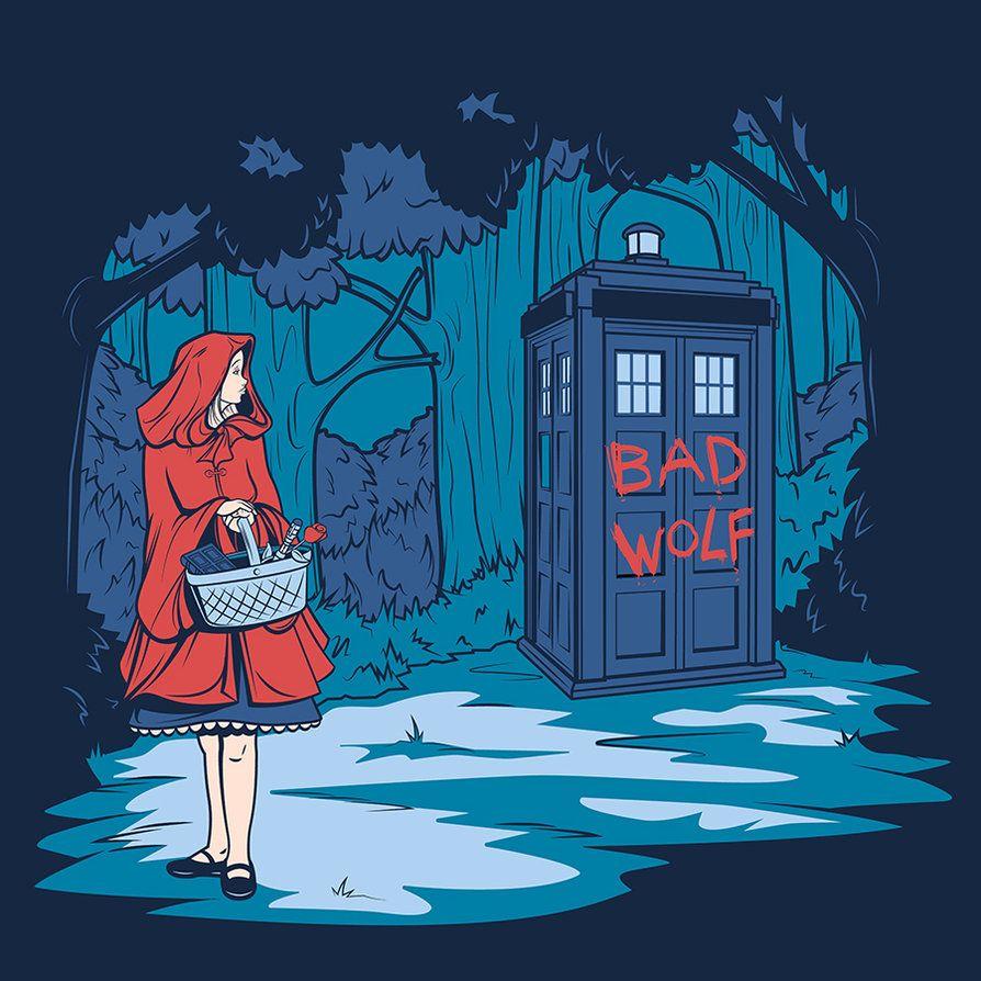Big Bad Wolf by *khallion on deviantART     love this series