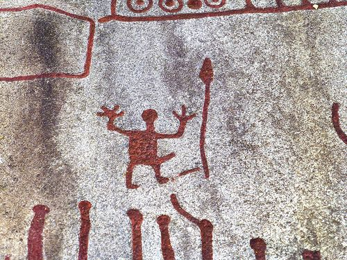 Bronze age rock carvings in tanum sweden unesco world
