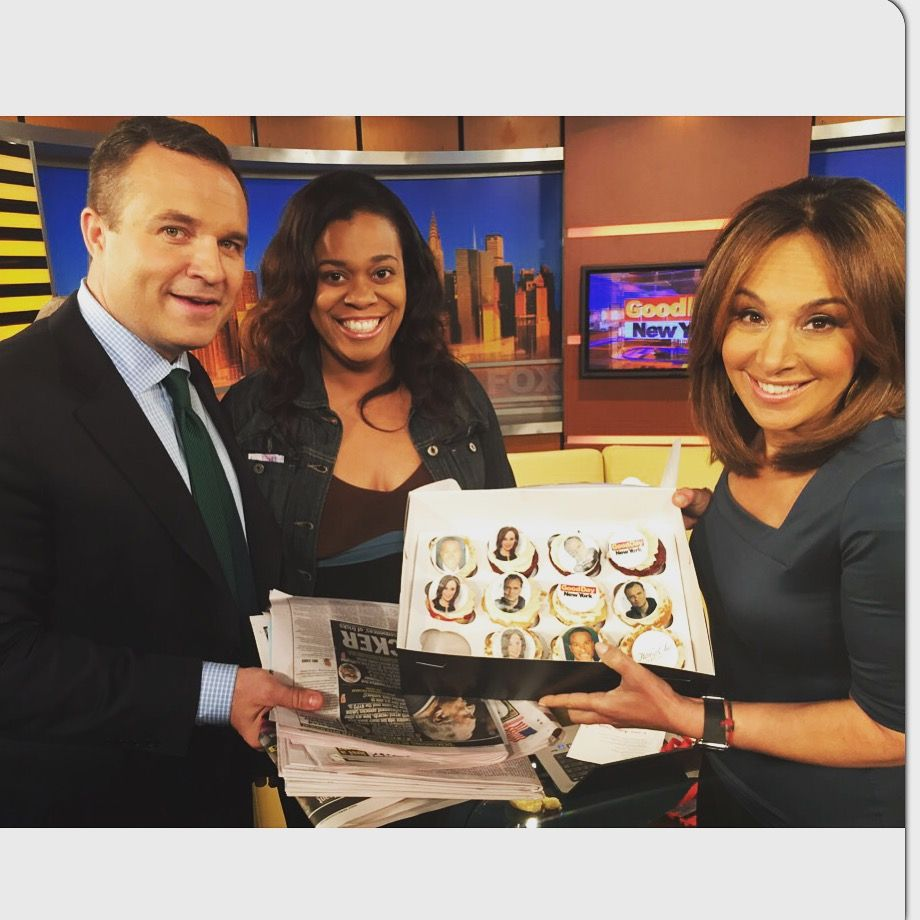 Greg Kelly and Rosanna Scotto Good Day New York Fox 5 | TCC