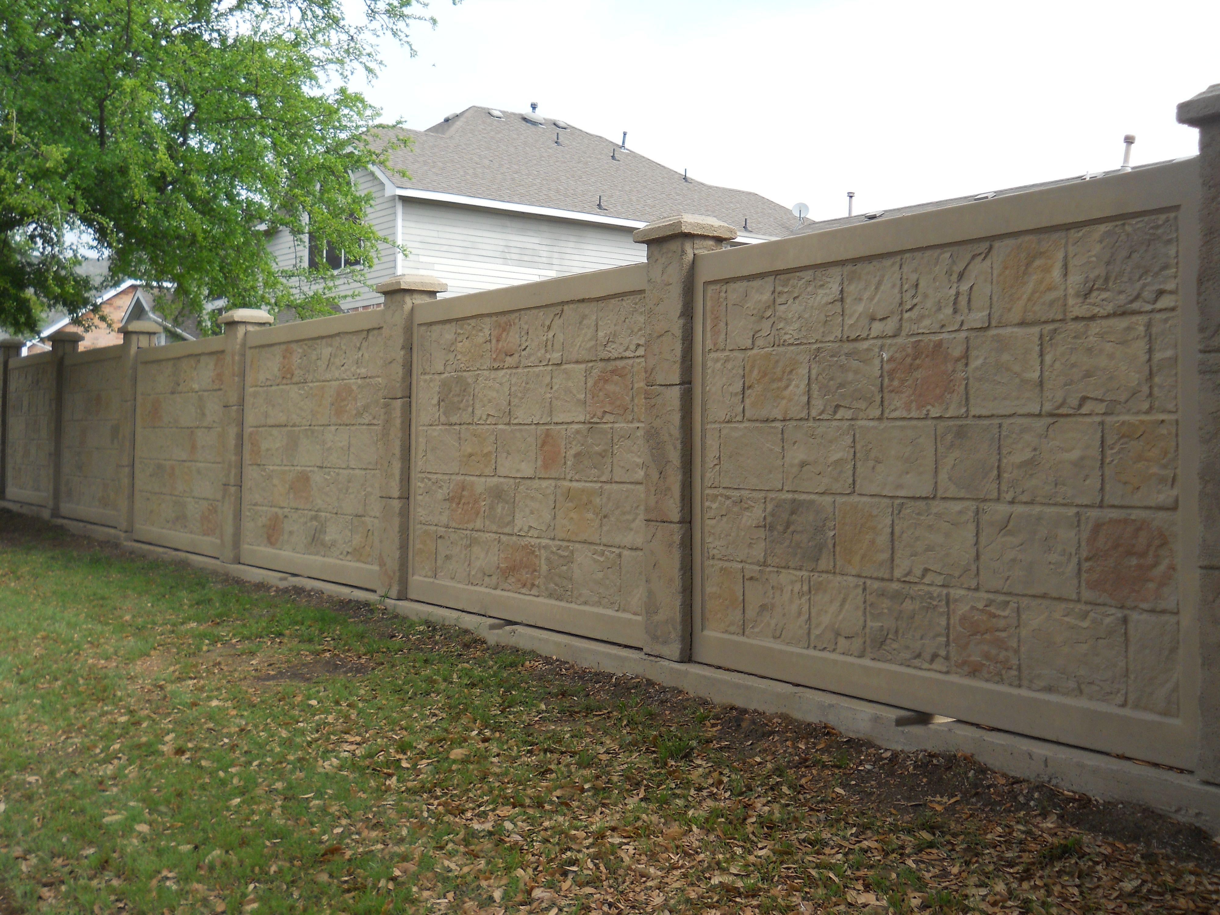 Concrete Precast Fencing Concrete Fence Fence Gate Design Precast Concrete