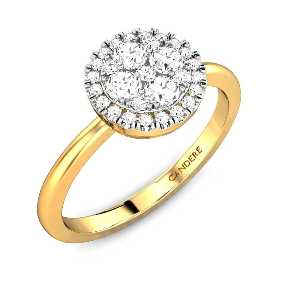 Izarra ziah diamond ring ziah collection by candere a kalyan