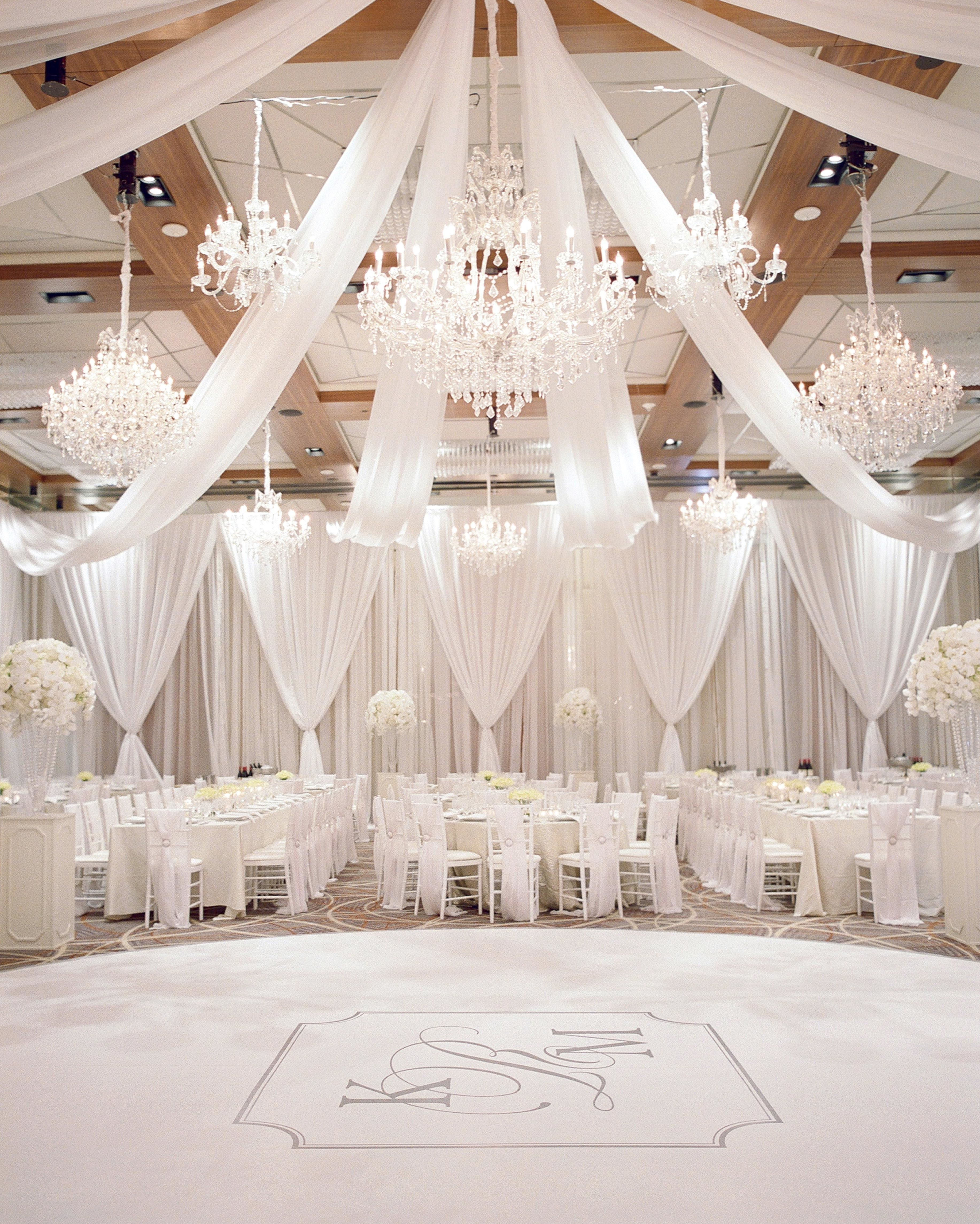 Destination Wedding Reception Ideas: One Couple's Elegant Wedding In Baltimore, Maryland