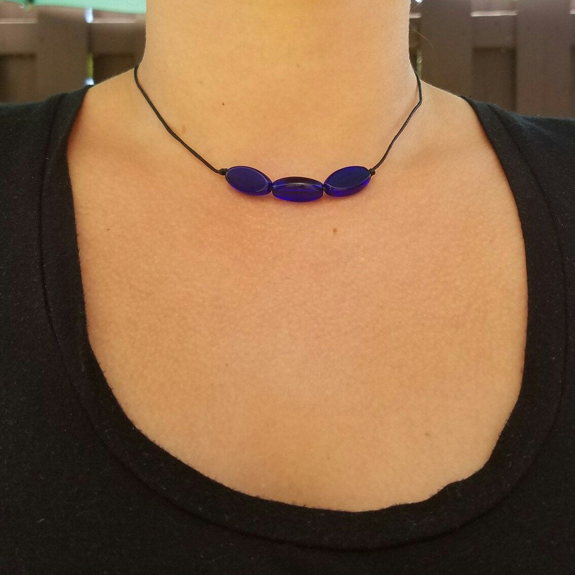 Uncharted Inspired Necklace Cassie Drake Necklace Inspired Blue