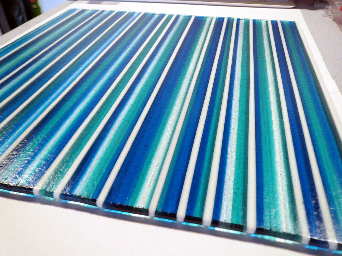 A Strip Construction Glass Fusing Part Sheet Rocket Rose Art In 2020 Fused Glass Panel Fused Glass Plates Stained Glass Suncatchers