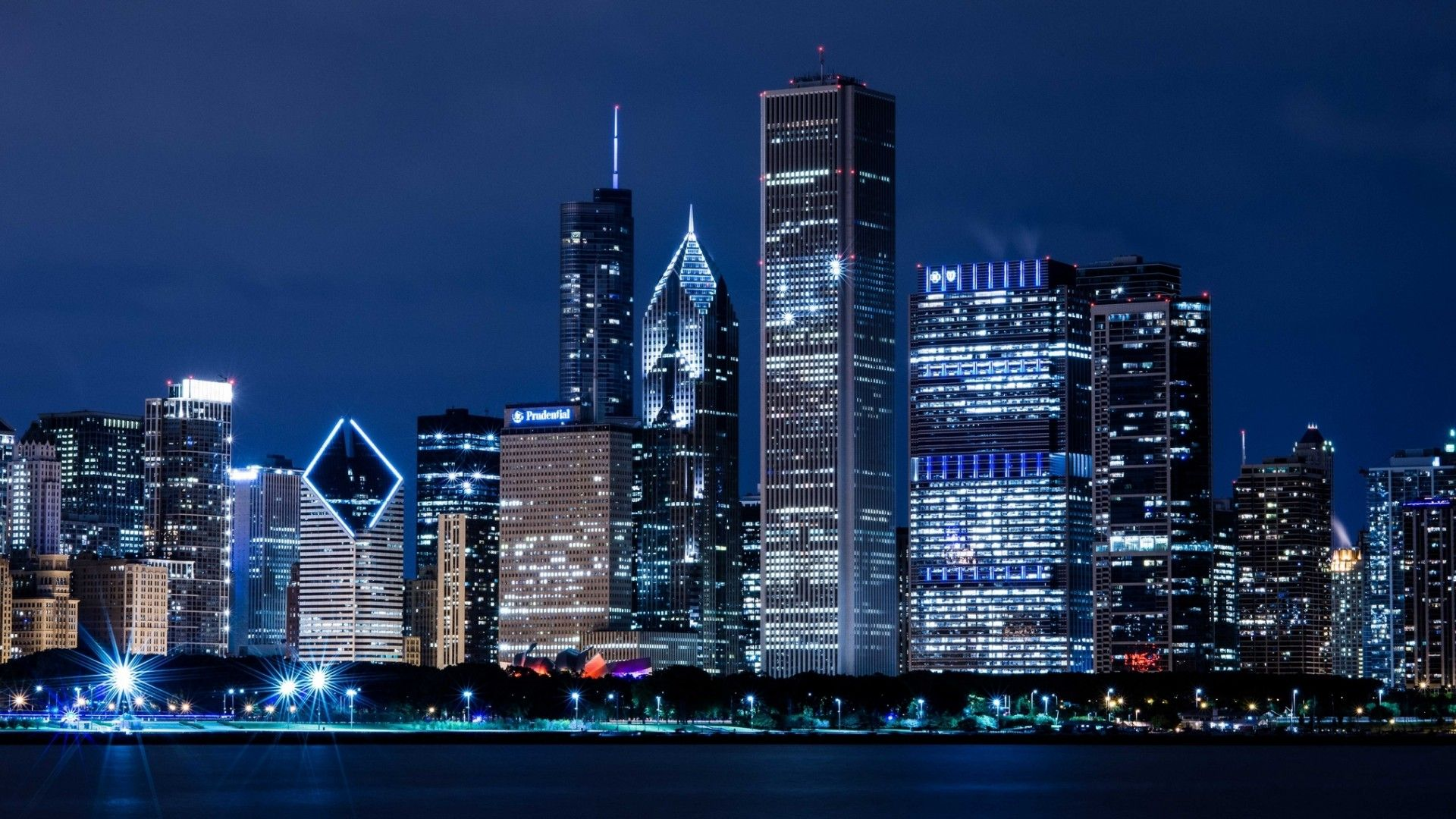 ultra hd chicago twilight ultra hd world place wallpapers pinterest chicago