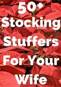 are you looking for stocking stuffers for your wife or a stuffing gift that