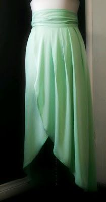 """""""I love swooning over luscious fabrics and creamy colors. Some how things seem to always flow back to my love of flavor or my appetite for delicious beautiful """"everything"""". Gwen Maxi Skirt Read more... ilovecollins.com"""