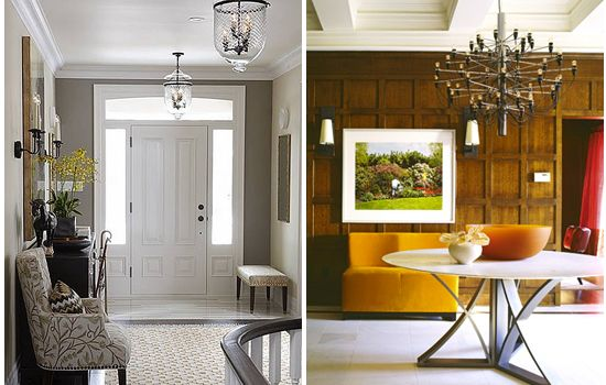 Foyer Rug Rules : Design math rules for hanging entryway lights decor