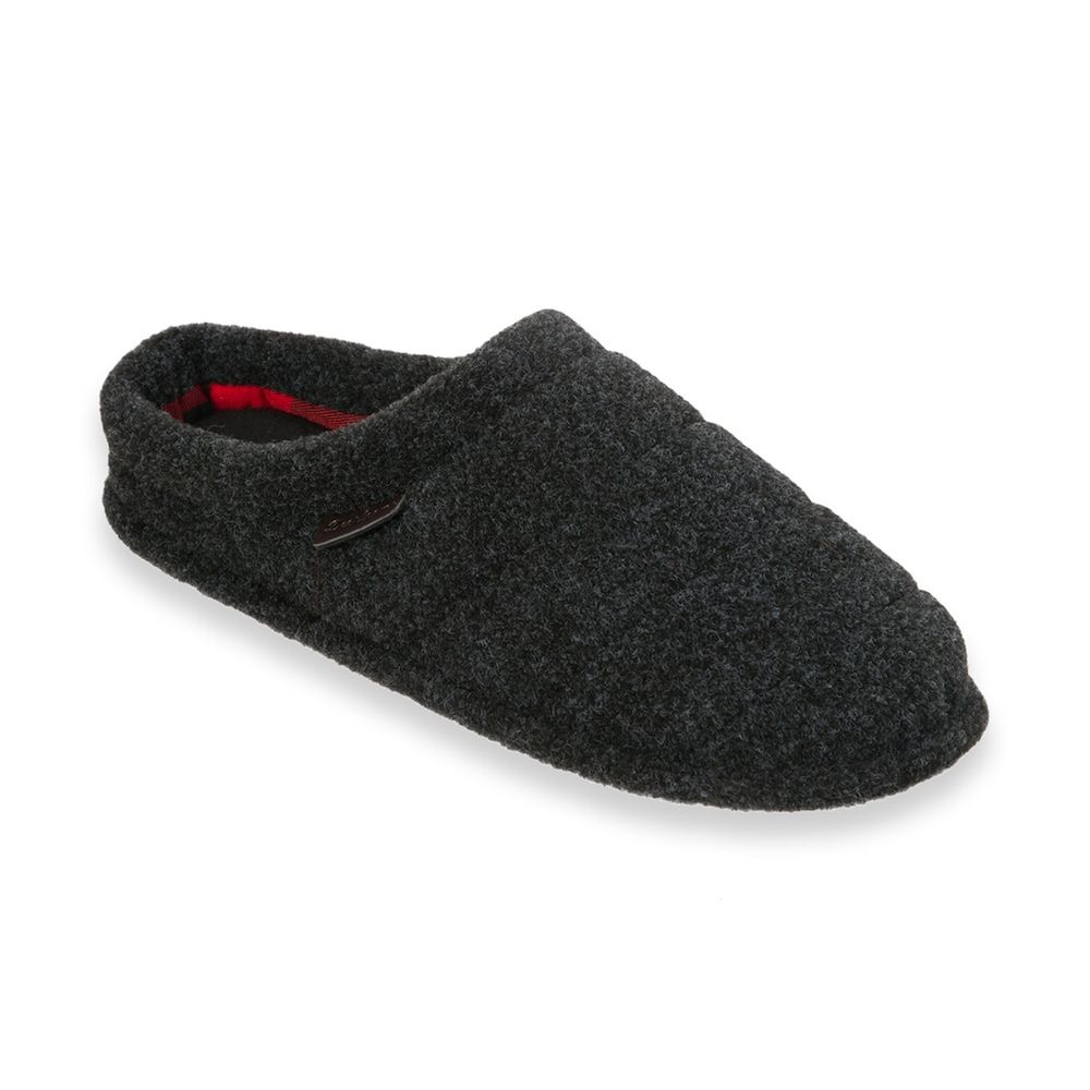 25b9f3107 Dearfoams Men s Quilted Clog Slippers