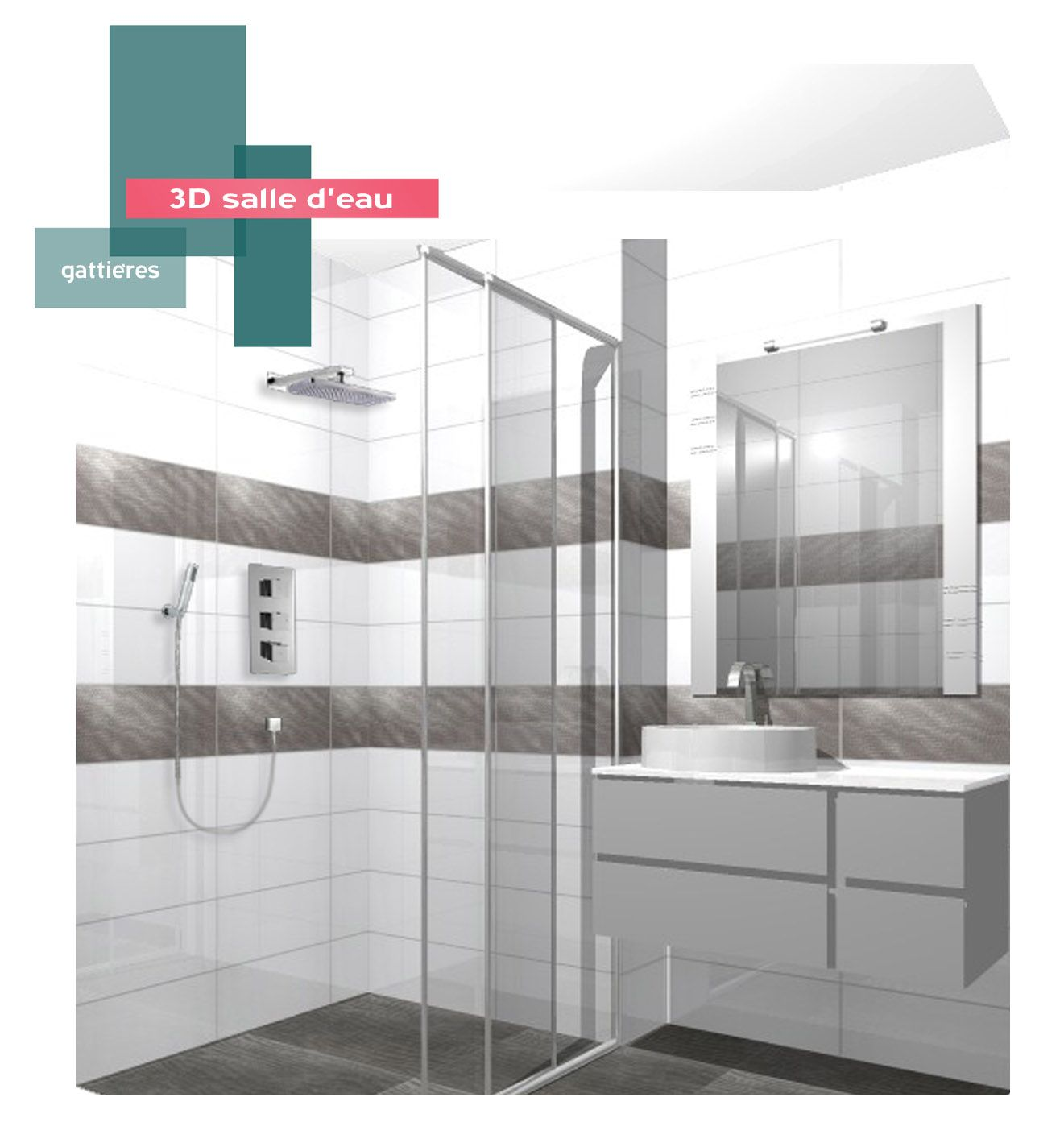 salle d 39 eau b indoor www b decoration design agencement contemporain art. Black Bedroom Furniture Sets. Home Design Ideas