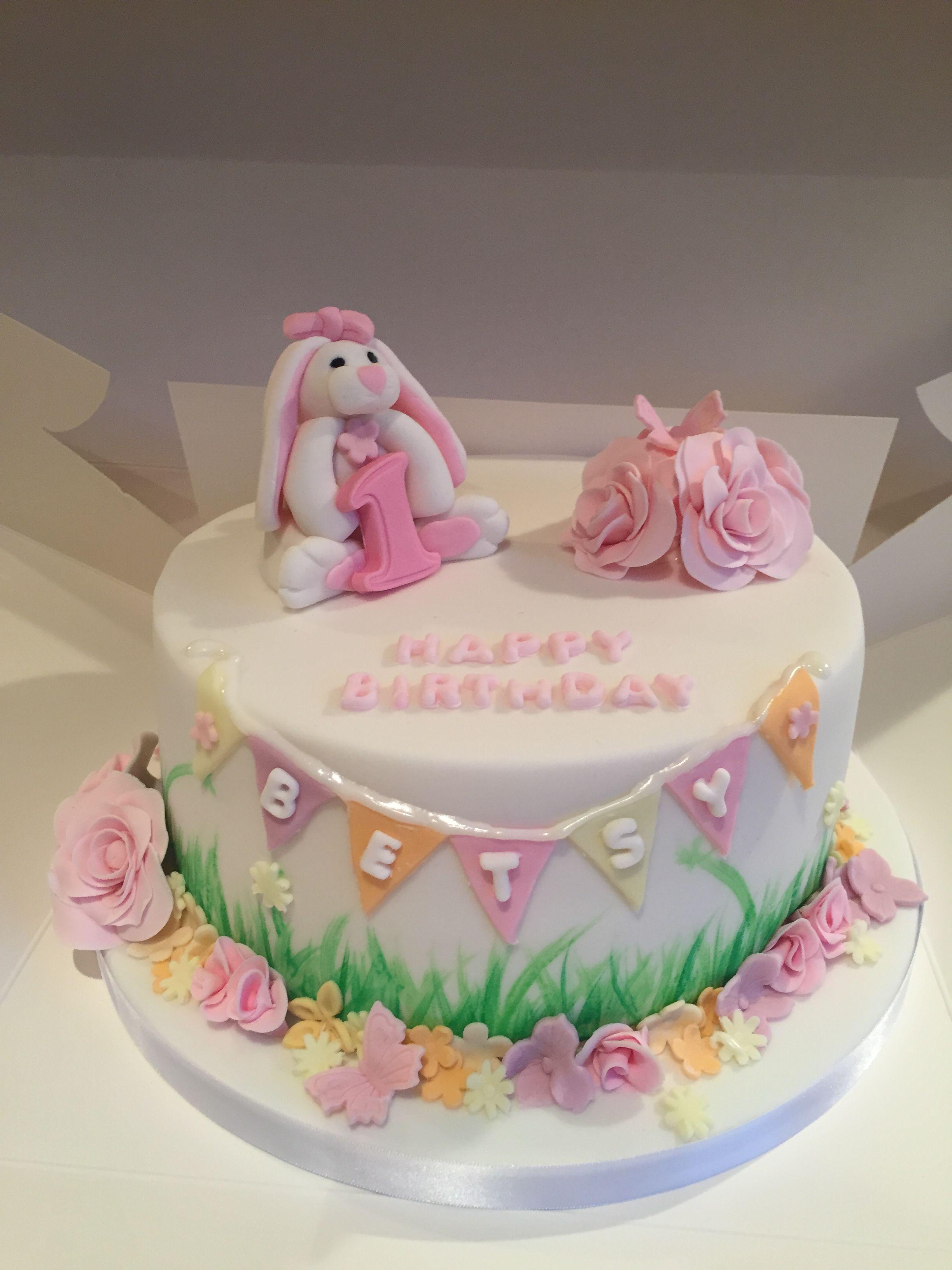 1st Birthday Cake Happy Birthday Betsy In