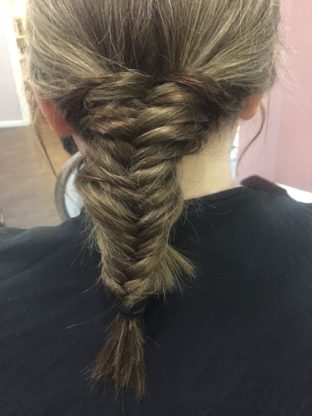 Fishtail plait