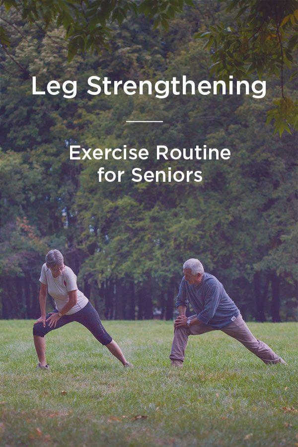 Leg Strengthening Exercises for Seniors: For Support