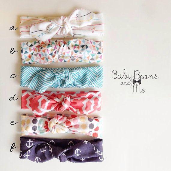 organic cotton knot headband spring baby turban and adult headwrap enfant pinterest bebe. Black Bedroom Furniture Sets. Home Design Ideas