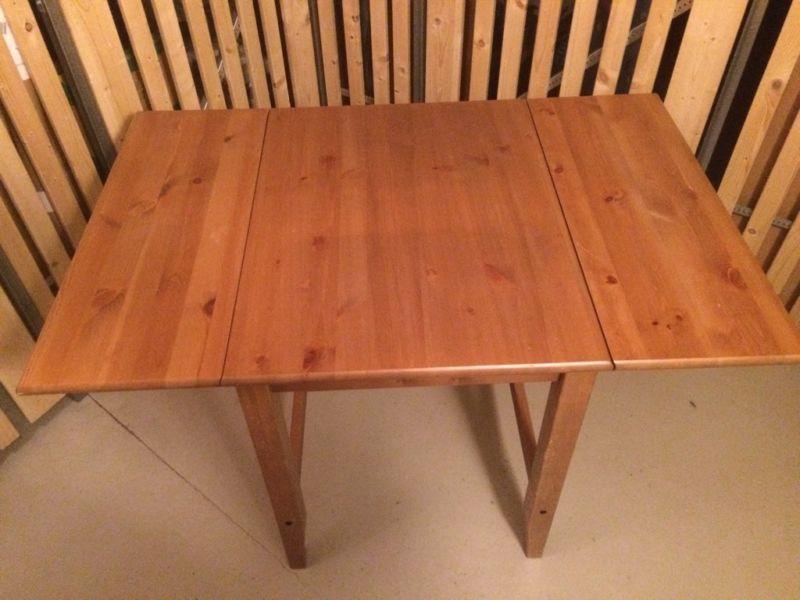 Küchentisch Ikea ~ Tisch von ikea ausklappbar einwandfreier zustand ebay