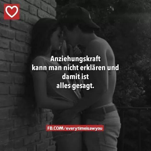 Liebe ist wie sie ist. - Anziehungskraft