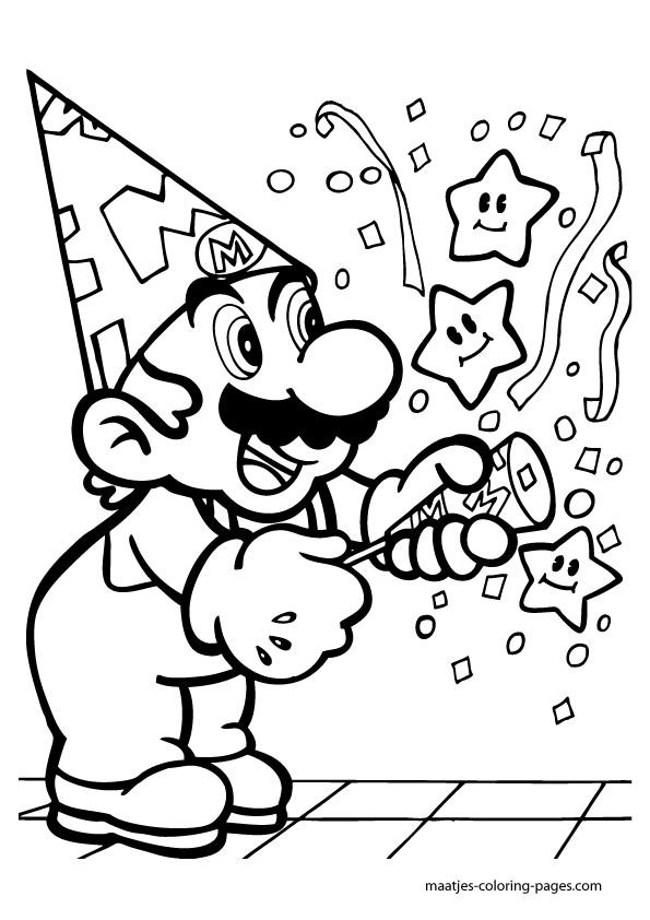 Super Mario Ausmalbilder 6 Draw In 2019