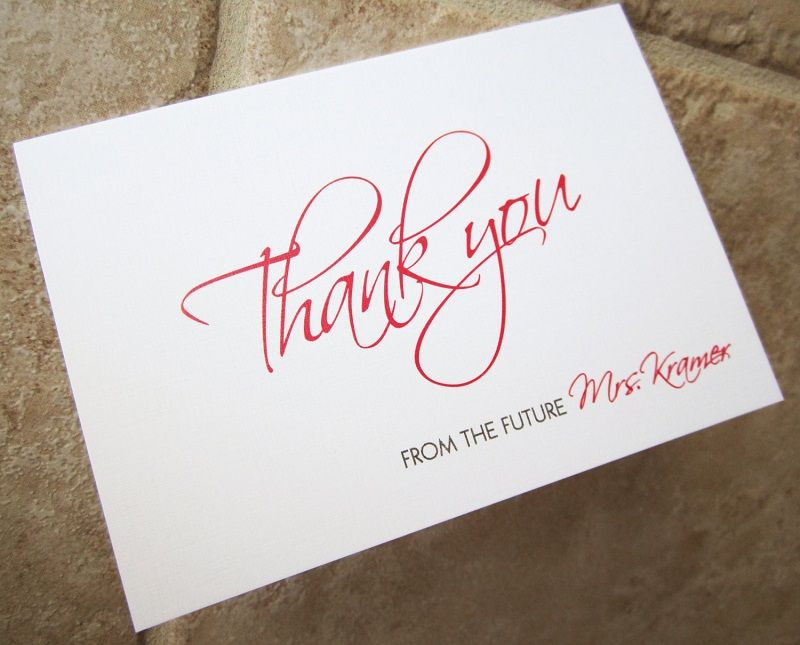 Bridal shower gratitude notes tips and samples thank you