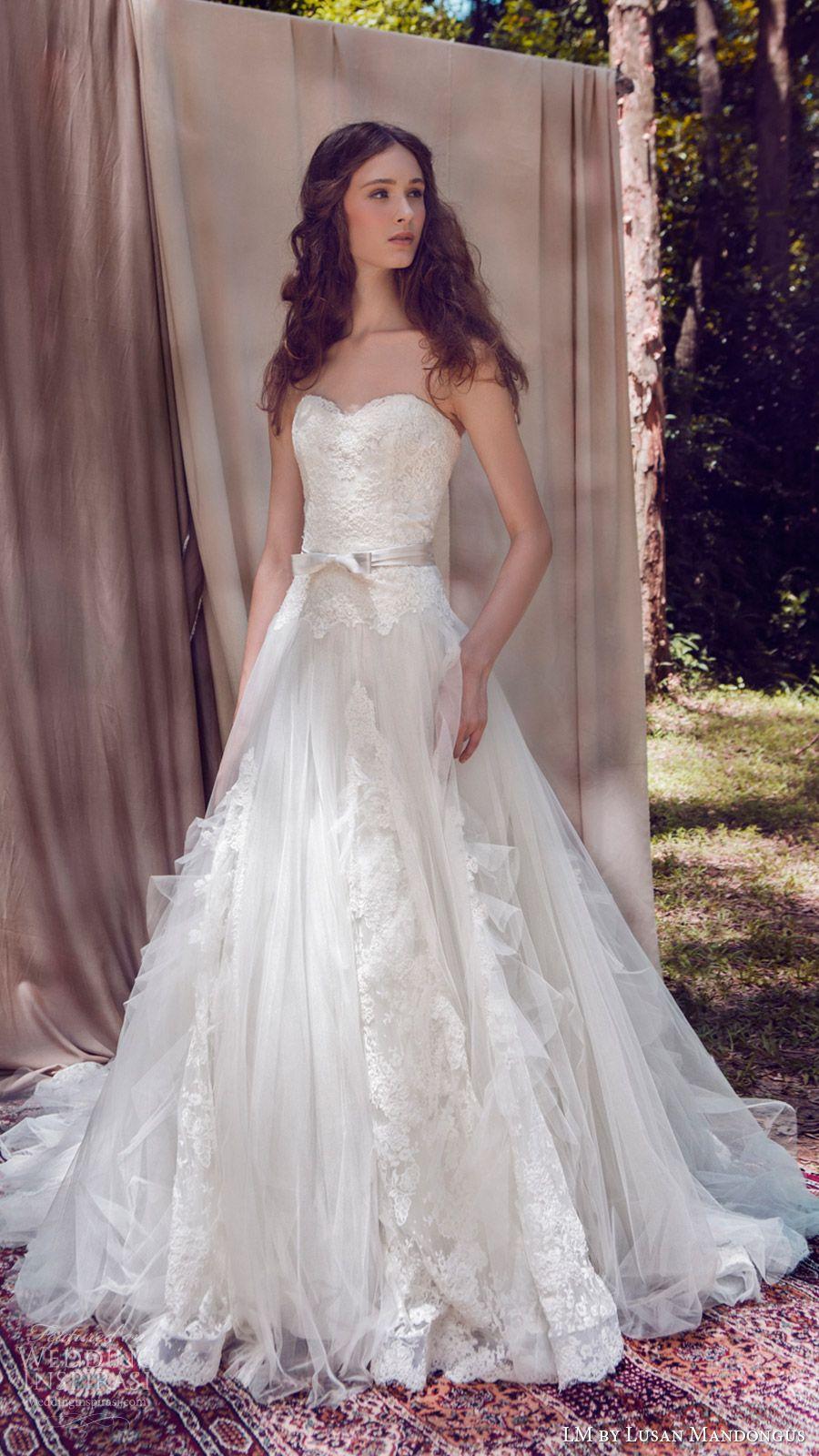 LM by Lusan Mandongus 2017 Wedding Dresses | Juntos para siempre ...